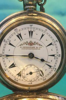 Osmalı serkisof cep saati